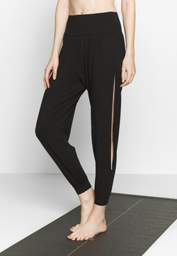 Hey Honey - BOHEMIAN PANTS - Pantalones deportivos - black