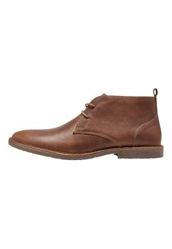 Next - LEATHER DESERT BOOT - Schnürer - tan