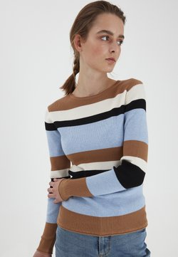 b.young - Strickpullover - thrush mix