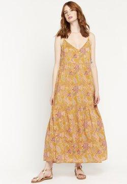 LolaLiza - FLOWER PRINT - Maxikleid - yellow