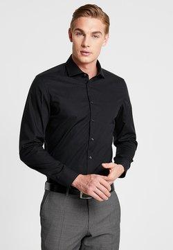 Seidensticker - SLIM SPREAD KENT PATCH - Businesshemd - black