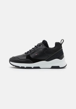Tommy Hilfiger - SPORTY CHUNKY WARM  - Sneakers laag - black
