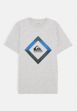 Quiksilver - SCREEN TEE - T-Shirt print - athletic heather