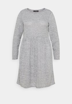 Evans - SOFT TOUCH DRESS - Freizeitkleid - grey