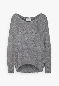 American Vintage - TUDBURY - Sweter - gris chine