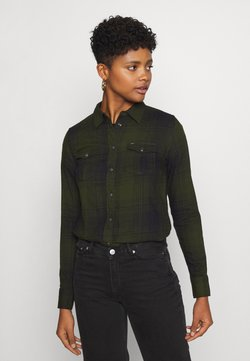 Lee - REGULAR WESTERN SHIRT - Chemisier - serpico green