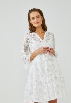 Aaiko - KAMPUR BRODERIE - Korte jurk - les blancs