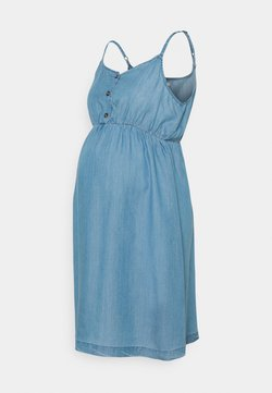 Esprit Maternity - DRESS - Jeanskleid - medium wash