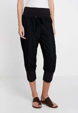 Cream - LINE PANTS - Pantaloni - solid black