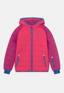 TrollKids - HAFJELL SNOW JACKET PRO UNISEX - Laskettelutakki - dark pink/light pink/blue