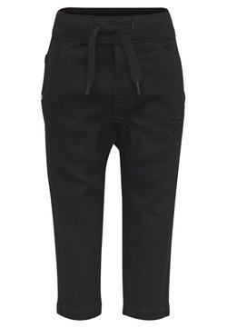 Hummel - HMLLEO - Straight leg jeans - black denim