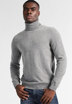 Benetton - BASIC ROLL NECK - Pullover - grau