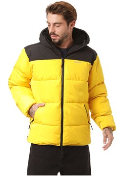 Mazine - Winterjacke - black / yellow