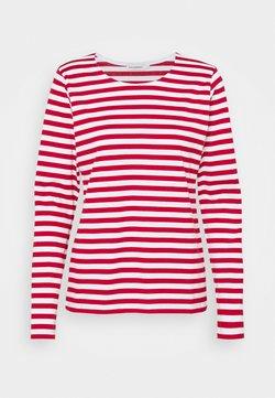 Marimekko - MARI - Langarmshirt - white/red
