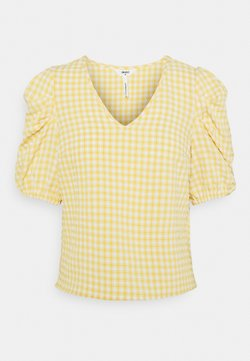 Object Petite - OBJTAMAR  - T-Shirt print - bamboo/sandshell
