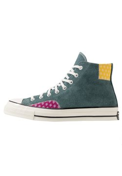 Converse - CHUCK TAYLOR ALL STAR 70  - Sneakersy wysokie - faded spruce/amarillo/rose maroon