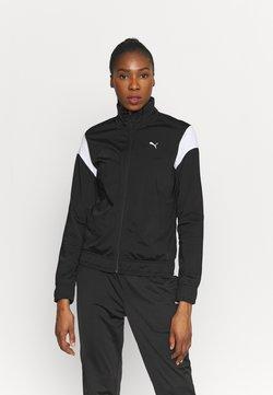 Puma - CLASSIC TRICOT SUIT SET - Trainingsanzug - black
