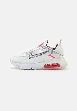 Nike Sportswear - AIR MAX 2090 - Sneaker low - summit white/black/siren red/white