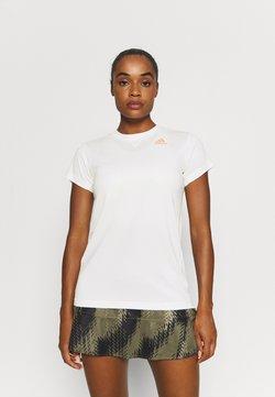 adidas Performance - HEAT.RDY ACE CLUB - T-Shirt basic - white/ambient blush