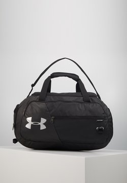 Under Armour - UNDENIABLE  - Sports bag - black/silver