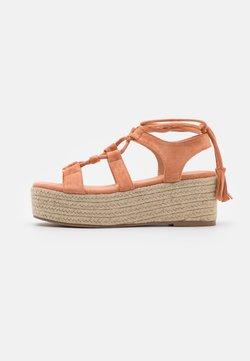 Glamorous - Korkeakorkoiset sandaalit - tan
