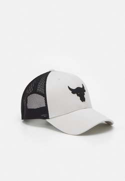 Under Armour - PROJECT ROCK TRUCKER UNISEX - Lippalakki - summit white