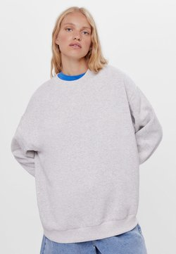 Bershka - Sweater - light grey