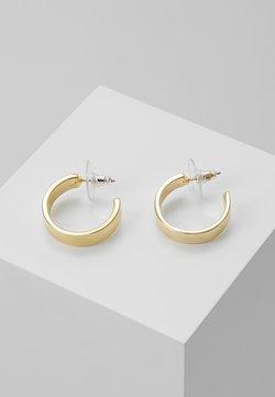 SNÖ of Sweden - CARRIE EAR PLAIN - Earrings - gold-coloured