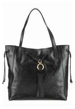 The Bridge - MARGHERITA - Shopping Bag - black
