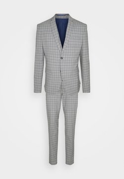 Isaac Dewhirst - THE FASHION SUIT PIECE CHECK - Anzug - grey