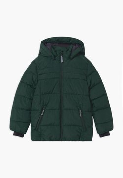 Color Kids - SHORT QUILTED UNISEX - Snowboard jacket - green gables