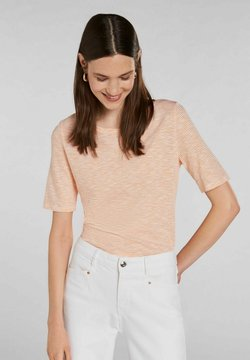 Oui - T-Shirt print - white yellow/or