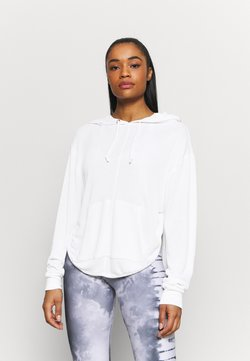 Free People - BACK INTO IT HOODIE - Jersey con capucha - powder white