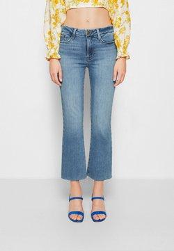 Frame Denim - LE CROP MINI BOOT - Bootcut jeans - tide pool grind