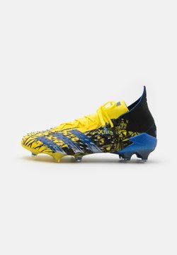 adidas Performance - PREDATOR FREAK .1 FG - Moulded stud football boots - yellow/blue/core black