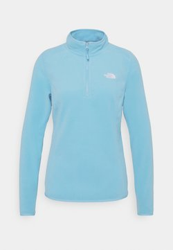 The North Face - WOMEN'S GLACIER 1/4 ZIP - Fleecepullover - ethereal blue