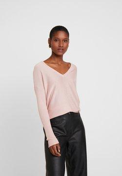 Anna Field - BASIC- SOFT OVERSIZED V-NECK - Jumper - pink
