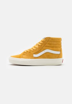 Vans - SK8 UNISEX  - Korkeavartiset tennarit - honey gold/true white
