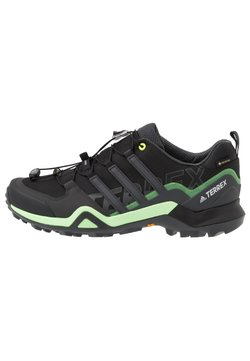 adidas Performance - TERREX SWIFT R2 GORE-TEX - Löparskor terräng - core black/dough solid grey/signal green