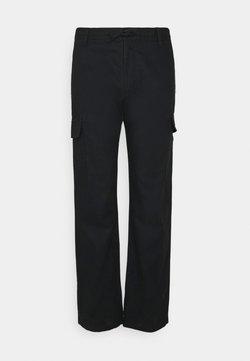 INDICODE JEANS - LASSO - Pantalon cargo - black