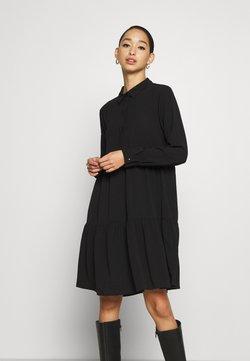 JDY - JDYPIPER DRESS - Vestido camisero - black