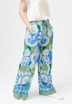 Dea Kudibal - PALLAS - Pantalones - khanga green