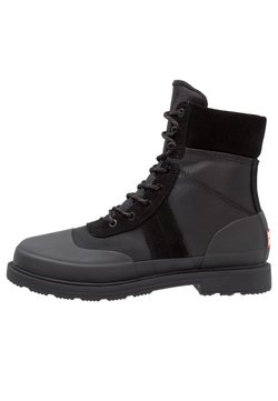 Hunter ORIGINAL - ORIGINAL INSULATED COMMANDO - Schnürstiefelette - black