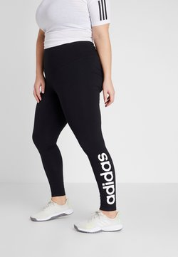 adidas Performance - ESSENTIALS TRAINING SPORTS LEGGINGS - Tights - black/white