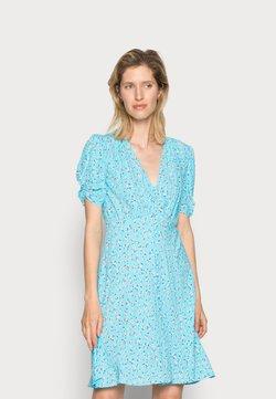 Ghost - SABRINA DRESS - Blusenkleid - scatter blue/lilac