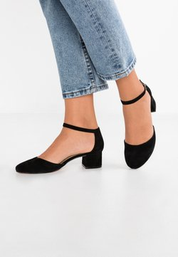 Anna Field - LEATHER CLASSIC HEELS - Classic heels - black
