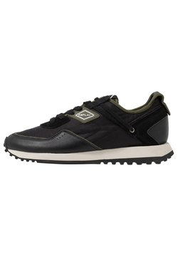Replay - DRUM PRO GROUND - Sneaker low - black/green