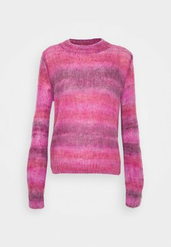 b.young - BYOLINE JUMPER - Strikkegenser - canyon rose