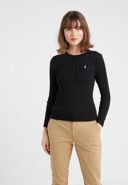 Polo Ralph Lauren - CLASSIC - Stickad tröja - polo black