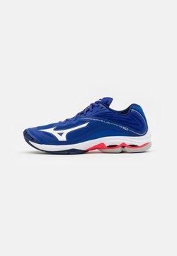 Mizuno - WAVE LIGHTNING Z6 - Volleybalschoenen - reflex blue/white/diva pink